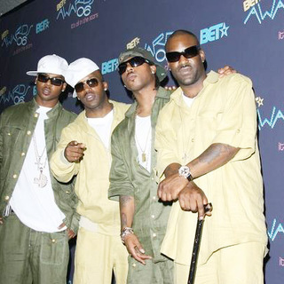 Jagged Edge in 2006 BET Awards - Press Room
