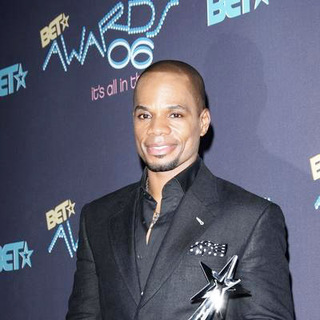 Kirk Franklin in 2006 BET Awards - Press Room