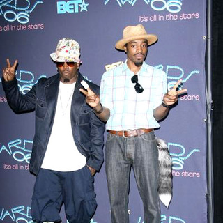 OutKast in 2006 BET Awards - Press Room