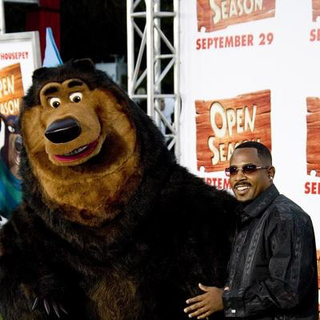 Martin Lawrence in Open Season Los Angeles Premiere - Red Carpet