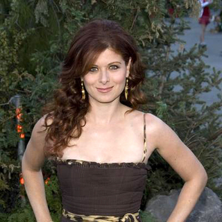 Debra Messing in Open Season Los Angeles Premiere - Red Carpet