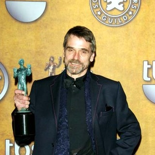 Jeremy Irons in 13th Annual Screen Actors Guild Awards - Press Room