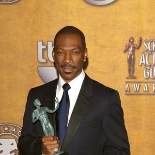 Eddie Murphy in 13th Annual Screen Actors Guild Awards - Press Room