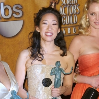 Sandra Oh in 13th Annual Screen Actors Guild Awards - Press Room