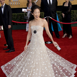 Sandra Oh in 13th Annual Screen Actors Guild Awards - Arrivals