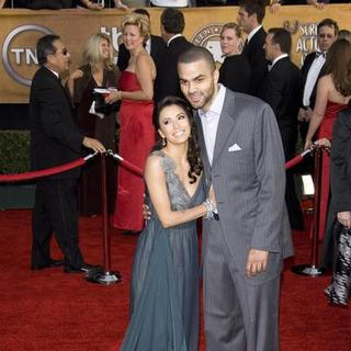 Eva Longoria, Tony Parker in 13th Annual Screen Actors Guild Awards - Arrivals