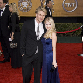 Chad Michael Murray, Kenzie Dalton in 13th Annual Screen Actors Guild Awards - Arrivals