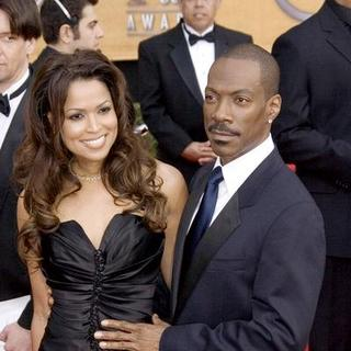 Eddie Murphy, Tracey Edmonds in 13th Annual Screen Actors Guild Awards - Arrivals