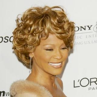 Whitney Houston in 2007 Clive Davis Pre-Grammy Awards Party