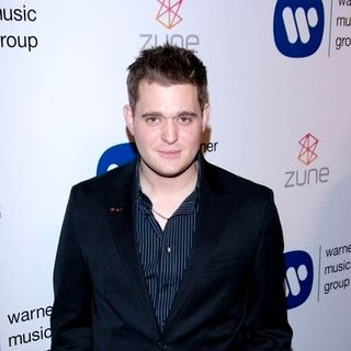 Michael Buble in Warner Music Group's 2007 Grammy After Party