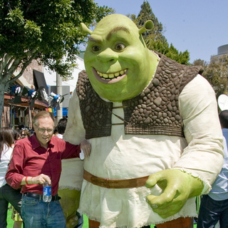 Larry King, Shrek in Shrek The Third - Los Angeles Movie Premiere - Arrivals