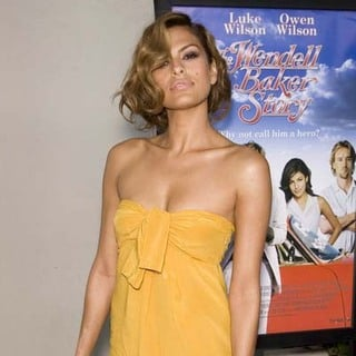 Eva Mendes in The Wendell Baker Story Los Angeles Premiere