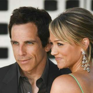 "Ben Stiller, Christine Taylor in ""License To Wed"" Los Angeles Premiere"