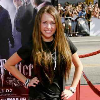 Miley Cyrus - U.S. Premiere if Harry Potter and the Order of the Phoenix