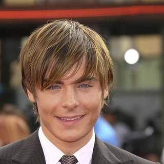 Zac Efron in Los Angeles Premiere of HAIRSPRAY