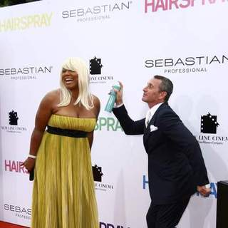 Queen Latifah, Alan Shankman in Los Angeles Premiere of HAIRSPRAY