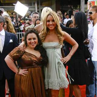 Nikki Blonski, Amanda Bynes in Los Angeles Premiere of HAIRSPRAY