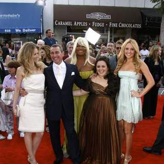 Michelle Pfeiffer, Adam Shankman, Queen Latifah, Nikki Blonski, Amanda Bynes in Los Angeles Premiere of HAIRSPRAY
