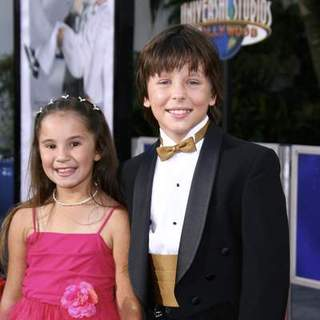 Shelby Adamowsky, Cole Morgen in I Now Pronounce You Chuck And Larry World Premiere presented by Universal Pictures