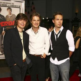 Hanson in Superbad Movie Premiere - Arrivals