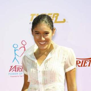 Q'Orianka Kilcher in Variety's Power of Youth event benefiting St. Jude Children's Hospital