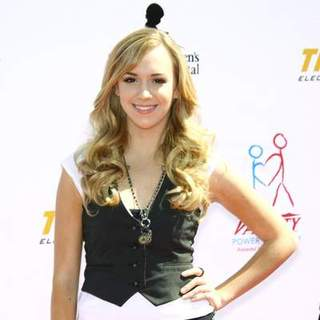 Andrea Bowen in Variety's Power of Youth event benefiting St. Jude Children's Hospital