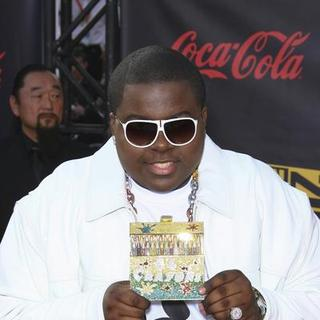 Sean Kingston in 2007 American Music Awards - Red Carpet