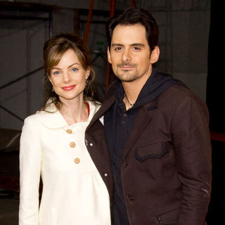 "Brad Paisley, Kimberly Williams Paisley in ""Walk Hard - The Dewey Cox Story"" Premiere - Arrivals"