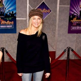 "Heather Locklear in ""Hannah Montana/Miley Cyrus: Best of Both Worlds Concert Tour"" 3-D Concert Film Hollywood Premiere"