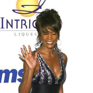 Whitney Houston in 2008 Clive Davis Pre-GRAMMY Party - Arrivals