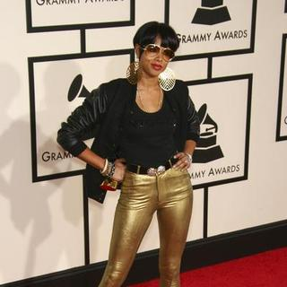 Kelis in 50th Annual GRAMMY Awards - Arrivals - CSH-038377