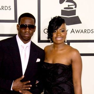 Fantasia Barrino, Young Dro in 50th Annual GRAMMY Awards - Arrivals