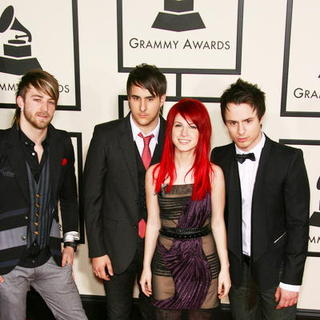 Paramore in 50th Annual GRAMMY Awards - Arrivals