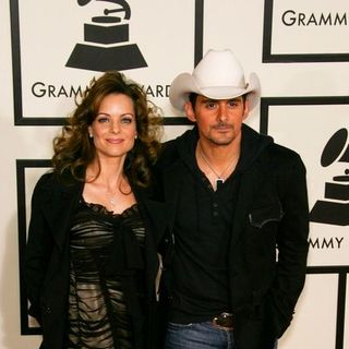 Brad Paisley, Kimberly Williams Paisley in 50th Annual GRAMMY Awards - Arrivals