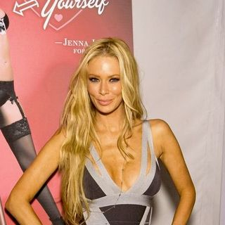 Jenna Jameson in Mercedes-Benz Fall 2008 Fashion Week at Smashbox Studios - Jenna Jameson Unveils PETA Ad