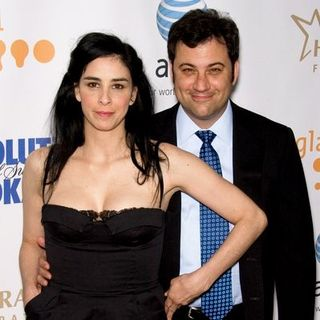 Sarah Silverman, Jimmy Kimmel in 19th Annual GLAAD Media Awards - Red Carpet