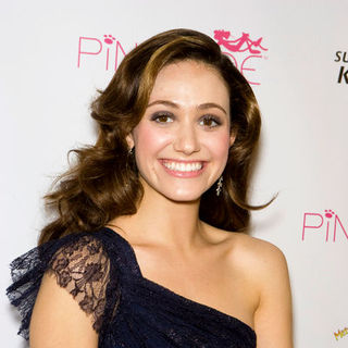 Emmy Rossum in Launch Event for PiNKiTUDE