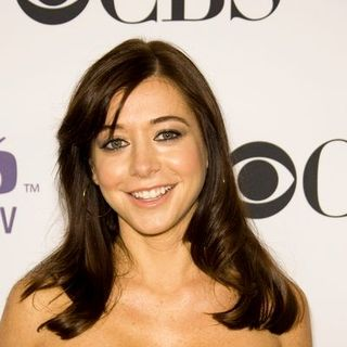 Alyson Hannigan in CBS Comedies Season Premiere Party