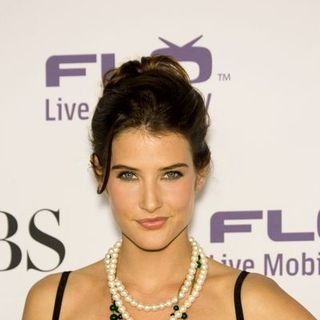 Cobie Smulders in CBS Comedies Season Premiere Party