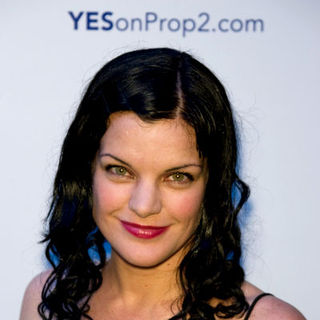 Pauley Perrette in Yes on Prop 2 Benefit