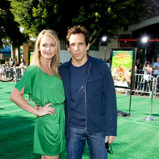 "Christine Taylor, Ben Stiller in ""Madagascar: Escape 2 Africa"" Los Angeles Premiere - Arrivals"