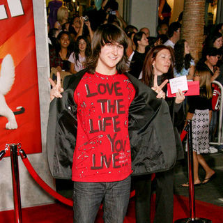 "Mitchel Musso in ""Bolt"" World Premiere - Arrivals"