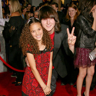 "Madison Pettis, Mitchel Musso in ""Bolt"" World Premiere - Arrivals"