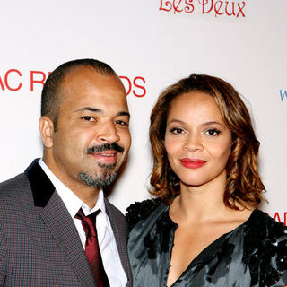 "Jeffrey Wright, Carmen Ejogo in ""Cadillac Records"" Los Angeles Premiere - After Party - Arrivals"