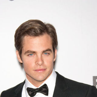Chris Pine in 66th Annual Golden Globes NBC After Party - Arrivals