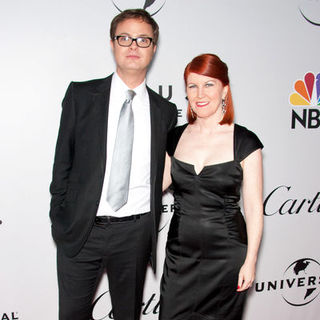 Kate Flannery, Rainn Wilson in 66th Annual Golden Globes NBC After Party - Arrivals