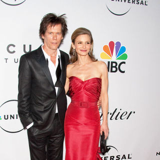 Kevin Bacon, Kyra Sedgwick in 66th Annual Golden Globes NBC After Party - Arrivals