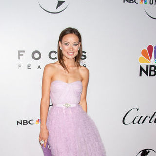 Olivia Wilde in 66th Annual Golden Globes NBC After Party - Arrivals