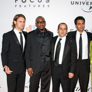 Jesse Spencer, Omar Epps, Kal Penn, Peter Jacobson in 66th Annual Golden Globes NBC After Party - Arrivals