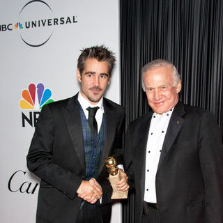 Colin Farrell, Buzz Aldrin in 66th Annual Golden Globes NBC After Party - Arrivals